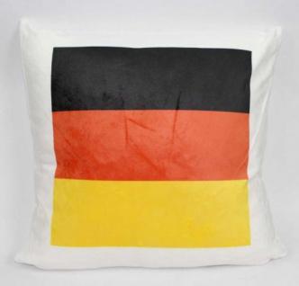 Kissen mit Deutschland Flagge