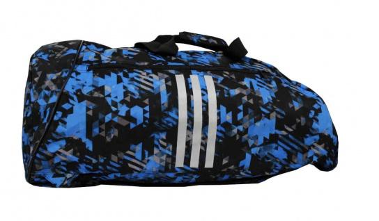 adidas Sporttasche - Sportrucksack Camouflage blau/silber - Vorschau 2