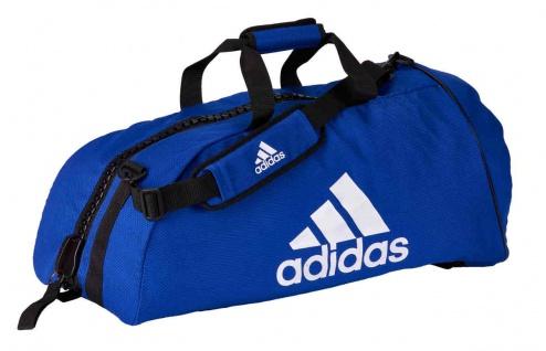adidas Bigzip Judo Tasche blau, Gr. L