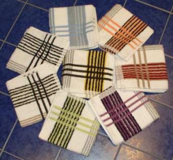 Handtuch aus Frottee 50x100 cm Sylt zweifarbig - Vorschau 1
