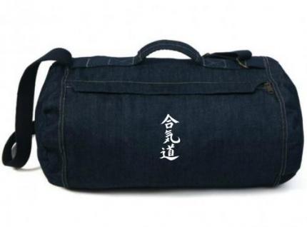 Jeans Sporttasche Aikido
