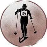 Emblem Skilanglauf, 50mm Durchmesser