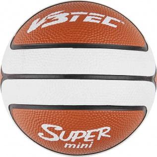 Mini Basketball SUPER 14 braun | weiß