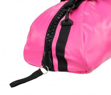 adidas Sporttasche - Sportrucksack pink/silber Kunstleder - Vorschau 5