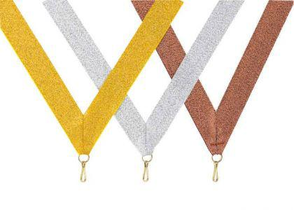 Medaillen Band silber - Vorschau