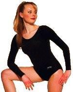Gym-Dress mit langem Arm, Farbe weiß, Gr. S
