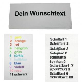 Microfaser Handtuch mit Namen oder Wunschtext bedruckt, 50 x 100 cm