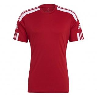 adidas T-Shirt Squadra 21 rot/weiß