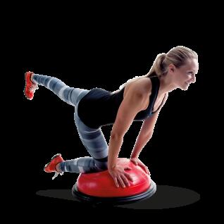 Pure 2Improve Balance Ball mit abnehmbaren Griffen
