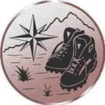 Emblem Wandern, 50mm Durchmesser