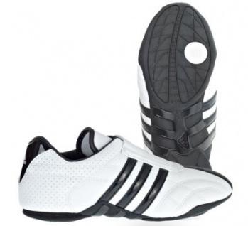 Adidas Schuhe Adilux weiß mit schwarzen Streifen