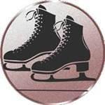 Emblem Schlittschuhe, 50mm Durchmesser
