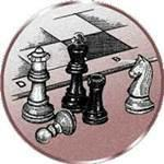 Emblem Schach, 50mm Durchmesser
