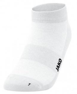 Socken Füsslinge 3er Pack weiß