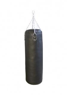 Boxsack Punch schwarz gefüllt 100 cm