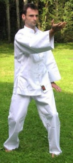 Kung Fu Anzug Shogun weiss