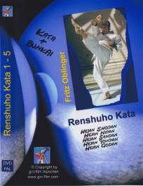DVD: Renshuho Heian/Pinan Katas 1-5