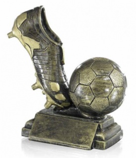 Pokal Fussball Und Fussballschuh
