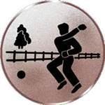 Emblem Straßenboßeln, 50mm Durchmesser