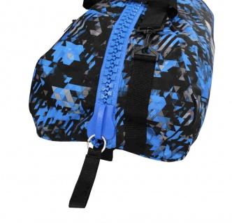adidas Sporttasche - Sportrucksack Camouflage blau/silber - Vorschau 5