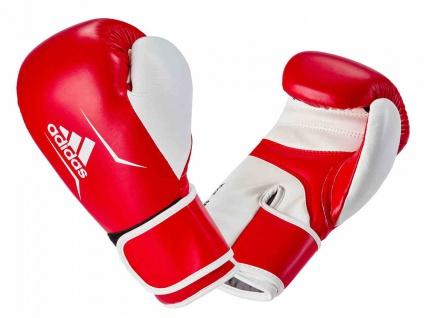 adidas Boxhandschuh Speed 165 Leder rot weiß 10 OZ