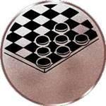 Emblem Dame, 50mm Durchmesser