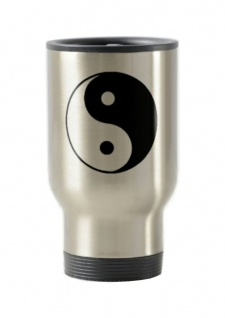 Thermo Becher To Go Motiv Ying Yang