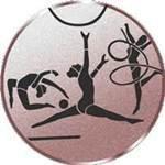 Emblem Kunstturnen, 50mm Durchmesser - Vorschau 1