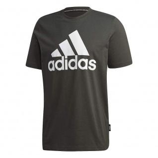 adidas Herren MH BOS T-Shirt dunkelgrau (Größe: L)