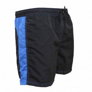 Badehose - Schwimmhose Hugo schwarz/blau