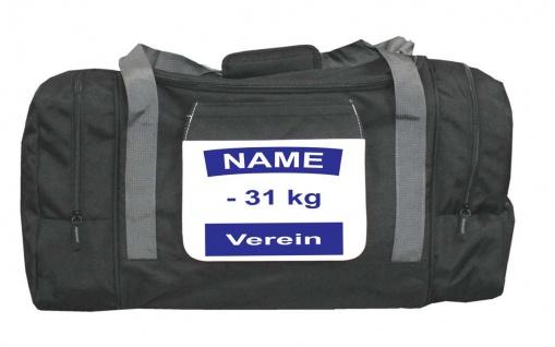 Sporttasche mit Judo Rückennummer