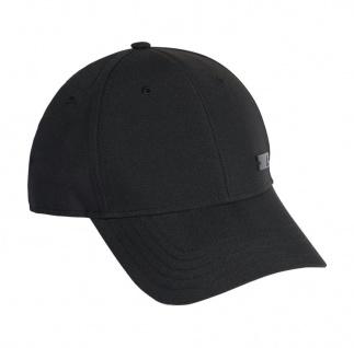 adidas Baseball Cap schwarz Metal Badge leicht