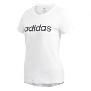 adidas Damen Performance Slim Fit T-Shirt weiß