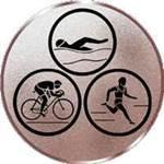 Emblem Triathlon, 50mm Durchmesser
