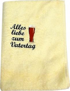 Handtuch Vatertag, 50 x 100 cm