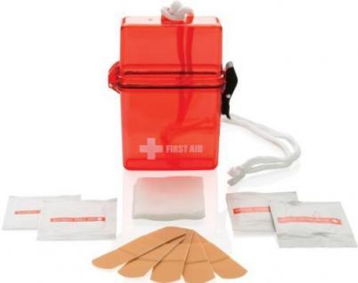 Erste Hilfe Mini Set wasserdicht
