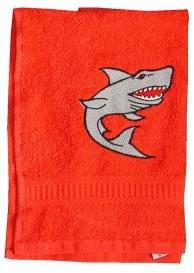 Handtuch aus Frottee mit Bestickung Haimotiv - Vorschau 2
