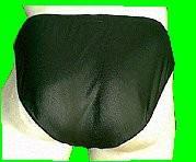 Lackoverall Farbe silber, Gr. XL - Vorschau 3