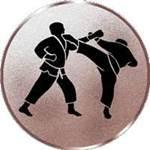 Emblem Karate, 50mm Durchmesser