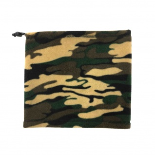 Fleece Halswärmer Camouflage