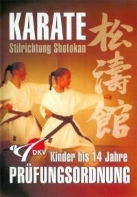 DVD Kinderprüfungsordnung Shotokan - Kinder bis 14 Jahre
