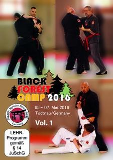 Kyusho-Jitsu Black Forest Camp 2016 Vol.1 Doppel DVD Box