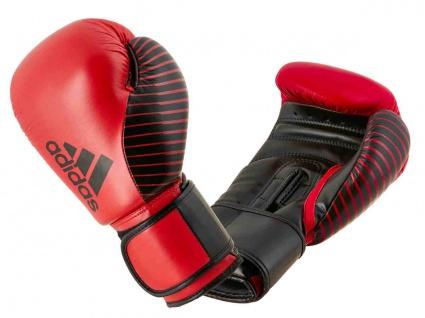 adidas Boxhandschuh Competition Leder rot schwarz 10 OZ