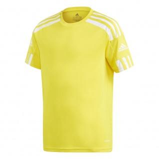 adidas Kinder T-Shirt Squadra 21 gelb/weiß