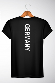 T-Shirt Germany Rücken