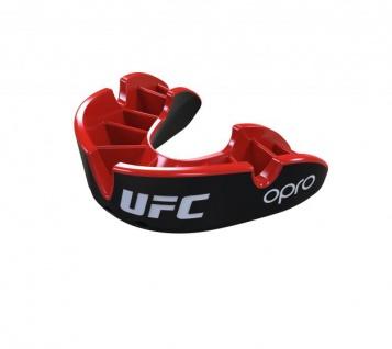 OPRO Zahnschutz UFC Silver - schwarz/rot, Senior
