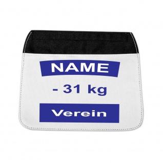 Ersatzlasche für Sporttasche mit Judo Rückennummer