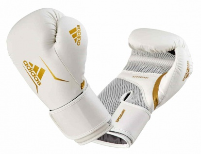 adidas Boxhandschuhe Speed 100 weiß/gold