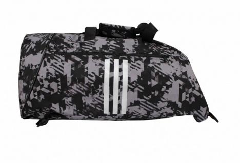 adidas Sporttasche - Sportrucksack Camouflage schwarz/silber - Vorschau 2