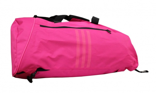 adidas Sporttasche - Sportrucksack pink/silber - Vorschau 2